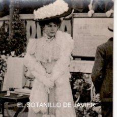 Postales: S.M. LA REINA DE ESPAÑA VICTORIA EUGENIA EN ACTO OFICIAL . Lote 45284205