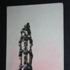 Postales: ANTIGUA FOTO POSTAL DELS XIQUETS DE VALLS. FOT. L. ROISIN. SIN CIRCULAR. Lote 45415035