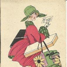 Postales: POSTAL ILUSTRADA 1910'S.. Lote 45512580