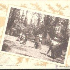 Postales: POSTAL COLECCION CANOVAS SERIE GLORIA NUM. 4 EN LA PRADERA FOT HAUSER EXCELENTE POSTAL SIN CIRCULAR. Lote 45582334