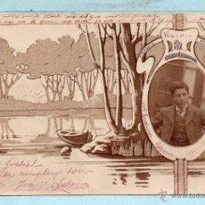 Postales: POSTAL CIRCULADA EL AÑO 1902. Lote 45602245