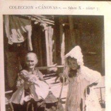 Postales: CAMBIO DE PAPELES, COLECCION CANOVAS SERIE X Nº 7.. Lote 45759272