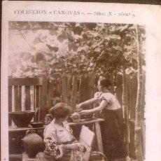 Postales: DESPUES DE LA COMIDA, COLECCION CANOVAS SERIE X Nº 9.. Lote 45759298