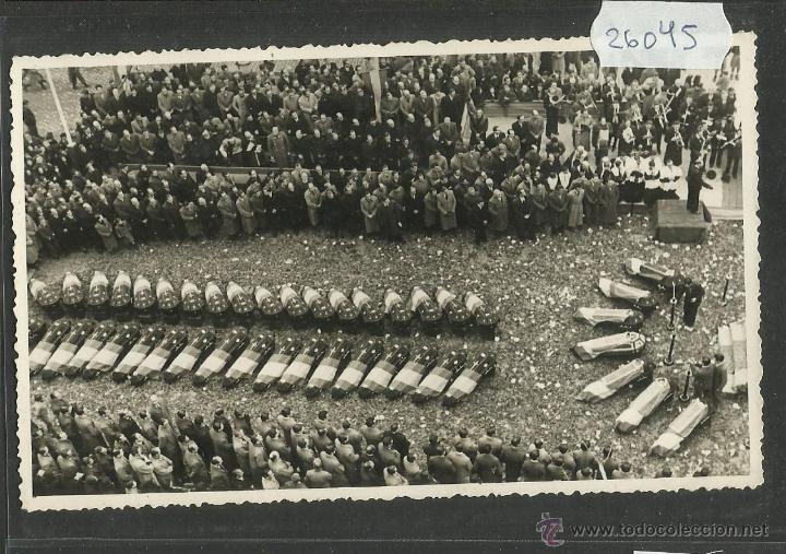 Postales: ENTIERRO CARLISTA - LOTE 4 POSTALES DEL CARLISMO-FOTOGRAFICAS -SELLO EN SECO PROCOPIO LLUCIA (26044) - Foto 2 - 45928703