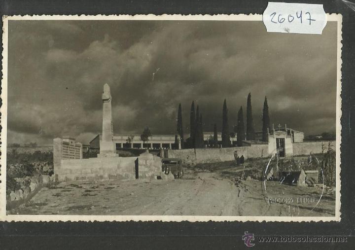 Postales: ENTIERRO CARLISTA - LOTE 4 POSTALES DEL CARLISMO-FOTOGRAFICAS -SELLO EN SECO PROCOPIO LLUCIA (26044) - Foto 4 - 45928703