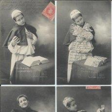 Postales: 10 POSTALES FRANCESAS. COLECCIÓN COMPLETA. 1902.. Lote 46094157