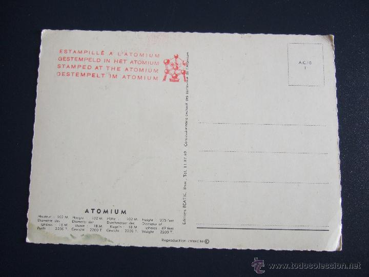 Postales: POSTAL ATOMIUM - Foto 2 - 46266108