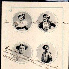 Cartes Postales: TARJETA POSTAL COLECCION CANOVAS. BARAJA DE CARTAS Nº 6. Lote 46320184