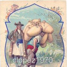 Postales: OFICIOS DE ESPAÑA. VENDEDOR DE JARRAS. JARRERO. EDICION FRANCESA. Lote 46969377