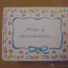 Postales: CAJA TARJETA DE FELICITACIÓN - WISH BOXES BY CARLTON CARDS. Lote 47183490