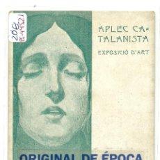 Postales: (PS-44521)POSTAL DE APLEC CATALANISTA,EXPOSICIO D´ART. Lote 47902128