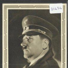 Postales: HITLER - ALEMANIA - NAZISMO - POSTAL - VER REVERSO - (31656). Lote 49025273