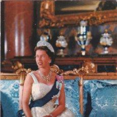 Postales: P- 1085. POSTAL FOTOGRAFICA REINA ELISABETH II DE INGLATERRA.. Lote 49279766