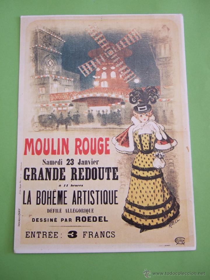 POSTAL EPHI 130 - MOULIN ROUGE (PARIS) - FRANCIA (Postales - Postales Temáticas - Especiales)