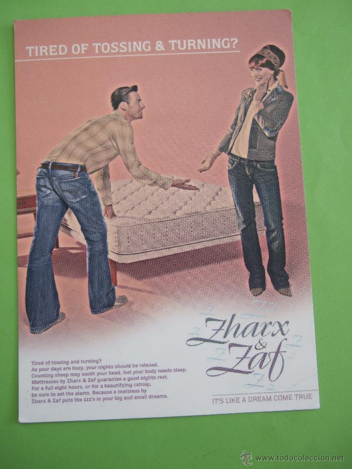 POSTAL - ZHARX & ZAF - DIESEL (Postales - Postales Temáticas - Especiales)