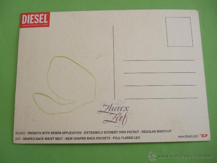 Postales: POSTAL - ZHARX & ZAF - DIESEL - Foto 2 - 49671663