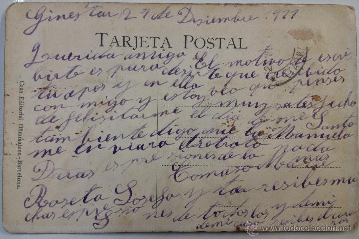Postales: POSTAL EN RELIEVE CURIOSAS SIGLO 20 (1911 ) (a) - Foto 2 - 50348629
