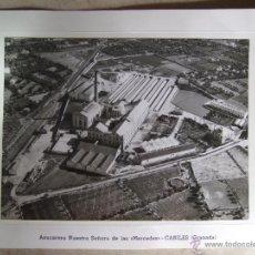 Postales: FOTOGRAFIA AZUCARERA NUESTRA SEÑORA DE LAS MERCEDES - CANILES GRANADA - 18X13 - AÑOS 60/70. Lote 51007069