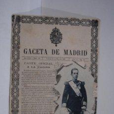 Cartes Postales: GACETA DE MADRID . Lote 51077691