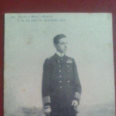 Postales: POSTAL HAUSER Y MENET, SU MAJESTAD EL REY ALFONSO XIII.. Lote 51461572