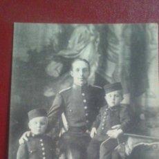 Postales: POSTAL, SM ALFONSO XIII Y SUS AUGUSTOS HIJOS PRINCIPE DE ASTURIAS E INFANTE D. JAIME. Lote 51461738