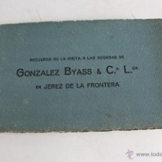 Postales: P- 2579. BLOC DE 10 POSTALES DE LAS BODEGAS GONZALEZ BYASS & CIA JEREZ DE LA FRONTERA.. Lote 51539853