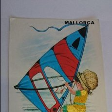Postales: BONITA POSTAL BORDADA DE MALLORCA .. ESCRITA, CON SELLO.. R-24. Lote 51609503