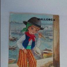 Postales: BONITA POSTAL BORDADA DE MALLORCA .. ESCRITA, CON SELLO.. R-26. Lote 51609541