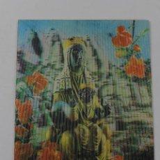 Postales: P- 3054. POSTAL 3D VIRGEN DE MONTSERRAT.. Lote 52478703