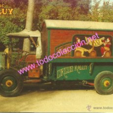 Postales: CIRCO RALUY - CAMION ANTIGUA TAQUILLA (AÑO 1924) - POSTAL SIN CIRCULAR. Lote 33597868