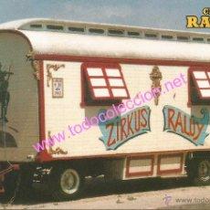 Postales: CIRCO RALUY - CARAVANA HABITACIÓN (AÑO 1942) - POSTAL SIN CIRCULAR. Lote 33598275
