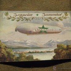 Postales: POSTAL ESPERANTO - ZEPPELIN - CIRCULADA DE ALEMANIA A SEVILLA EN 1910 - ESCRITA EN ESPERANTO. Lote 53204797