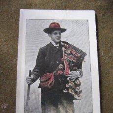 Postales: POSTAL BODA S.M. ALFONSO XIII - ATUENDO DE CAZA - BRILLO EN LA ROPA. Lote 53212617