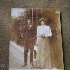Postales: POSTAL FOTOGRAFICA -. S.M. ALFONSO XIII Y VICTORIA EUGENIA - . Lote 53212643