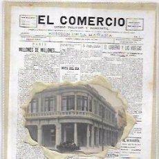 Postales: TARJETA POSTAL DIARIO EL COMERCIO. RECUERDO DE CUBA. HOTEL MIRAMAR.. Lote 53969932