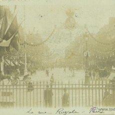 Postales: VISITA ALFONSO XIII A PARIS. MAYO DE 1905. POSTAL FOTOGRÁFICA.. Lote 54223181