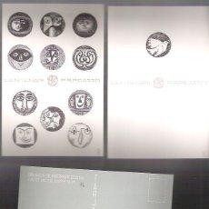 Postales: COLECCION DE 28 POSTALES, CENTENARIO DE P.R. PICASSO, ES UN JUEGO DOMINO. ED. LIMITADA 100 NUMERADO.. Lote 54307781