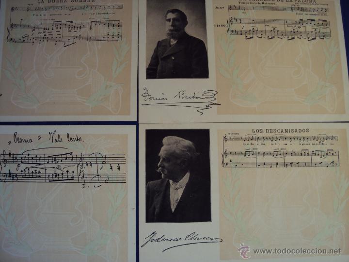 Postales: (PS-47852)20 POSTALES COMPOSITORES,Completa,SINDICATO MUSICAL BARCELONES DOTESIO,Amadeu Vives - Foto 3 - 54575291
