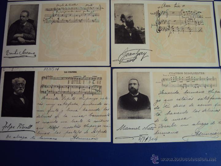 Postales: (PS-47852)20 POSTALES COMPOSITORES,Completa,SINDICATO MUSICAL BARCELONES DOTESIO,Amadeu Vives - Foto 4 - 54575291