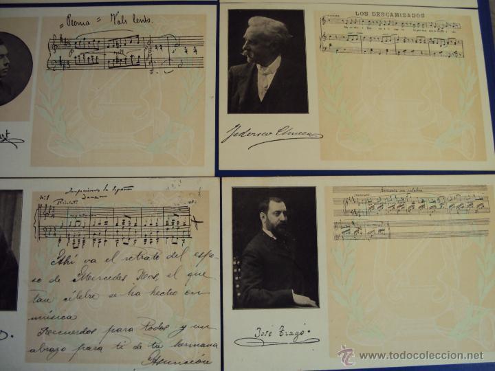 Postales: (PS-47852)20 POSTALES COMPOSITORES,Completa,SINDICATO MUSICAL BARCELONES DOTESIO,Amadeu Vives - Foto 5 - 54575291