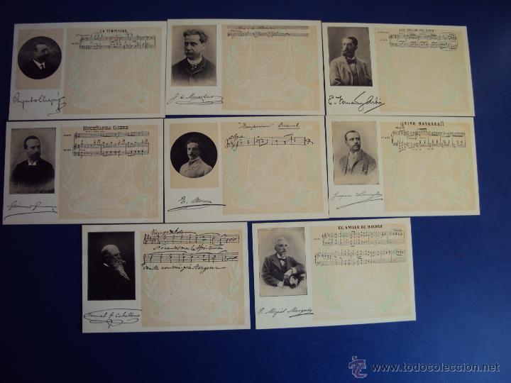 Postales: (PS-47852)20 POSTALES COMPOSITORES,Completa,SINDICATO MUSICAL BARCELONES DOTESIO,Amadeu Vives - Foto 6 - 54575291