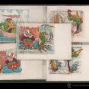 Postales: LOS AMORES DE UN TROVADOR - 12 POSTALES - COL· COMPLETA - VER FOTOS - (41813). Lote 54787432