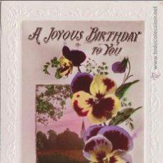 Postales: P- 4444. POSTAL INGLESA A JOYOUS BIRTHDAY TO YOU.. Lote 54814680