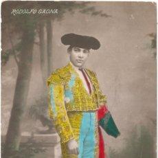 Cartes Postales: TOROS RODOLFO GAONA. Lote 54851822