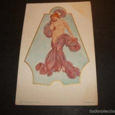 Postales: POSTAL EROTICA DESNUDO FEMENINO HACIA 1910. Lote 55574601