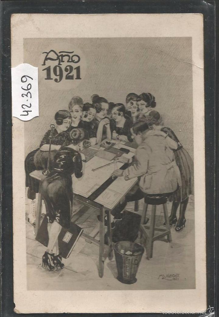 POSTAL ANTIGUA AÑO 1921 - M. VILADOT -VER REVERSO -(42.369) (Postales - Postales Temáticas - Especiales)