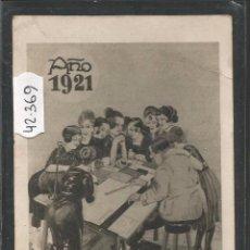 Postales: POSTAL ANTIGUA AÑO 1921 - M. VILADOT -VER REVERSO -(42.369). Lote 55860574