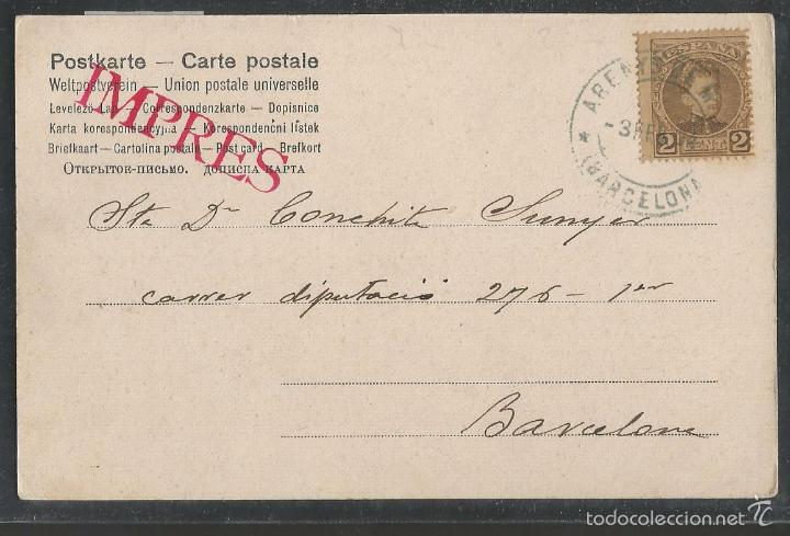 Postales: POSTAL ANTIGUA MONO -VER REVERSO -(42.378) - Foto 2 - 55860757