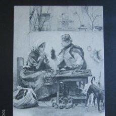 Postales: POSTAL EL CONSEJERO DEL BARRIO. HAUSER Y MENET. PRIMERA EDICIÓN. CIRCULADA. AÑO 1902. . Lote 56915300