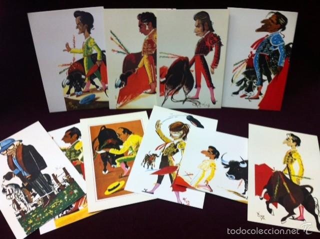 Postales: POSTALES CARICATURAS DE TOREROS - Foto 2 - 57071744